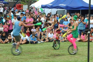 Fines y Progresar: más de dos mil jóvenes celebraron el cierre del ciclo 2014