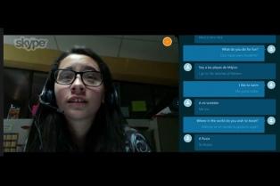 Skype comenzó a ofrecer traducción simultánea del inglés al español
