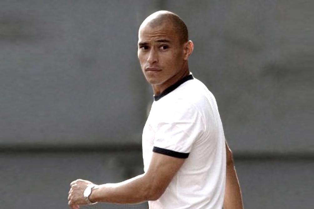El ex jugador de Boca Clemente Rodríguez participó de la fiesta.