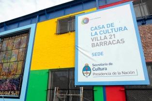 La Casa de la Cultura de la Villa 21-24 en Barracas será la sede central de la cultura popular