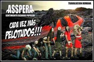 El heavy metal bizarro de Asspera abre un 2015 de gran apertura