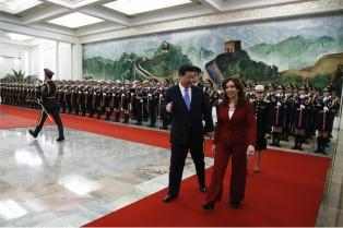 Cristina calificó la visita a China como una de las más importantes realizadas durante su gobierno