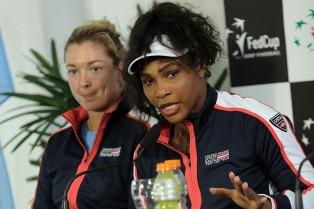 """Serena Williams: """"Espero que la gente disfrute de los partidos"""""""