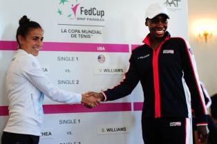 Paula Ormaechea abre la serie ante Venus Williams