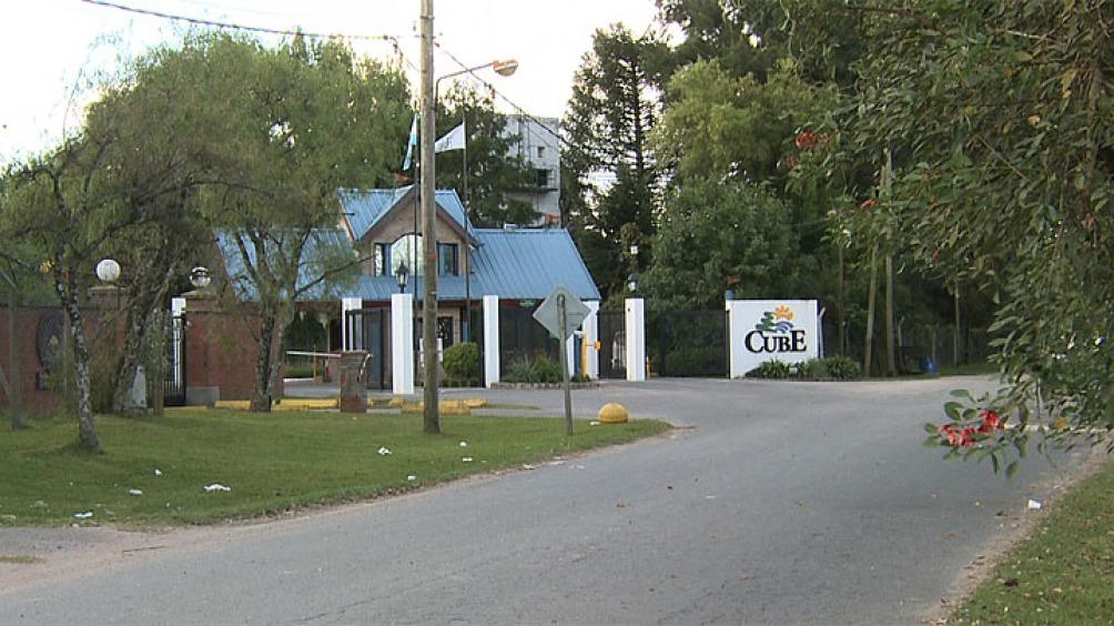 El barrio cerrado donde el viudo purgó parte de su condena en prisión domiciliaria.