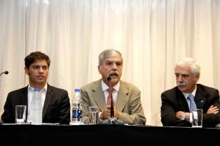 Kicillof y De Vido se reunieron con industriales metalúrgicos para detallar los acuerdos con China