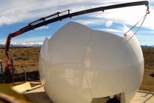 Instalan en Córdoba el primer radar del Sistema Nacional para prevenir catástrofes