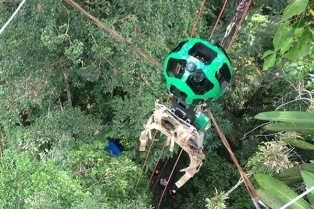 Google Street View llegó a la selva amazónica