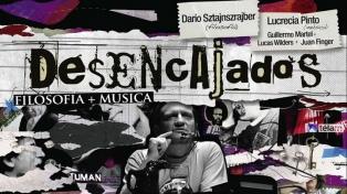 """Diálogo entre la filosofía y la música de la mano de Sztajnszrajber en la nueva obra """"Desencajados"""""""