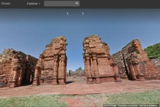 Google Street View está presente en las ruinas de San Ignacio