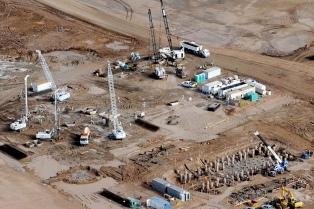 Concluyeron las primeras pruebas hidráulicas en la Central Termoeléctrica Guillermo Brown