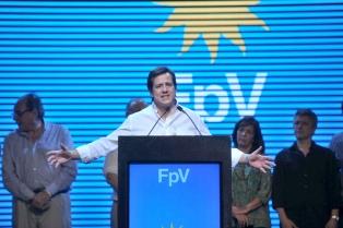 Contundente triunfo de Recalde en la interna del FpV