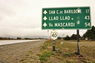 Piden extrema precaución para circular por la ruta nacional 40