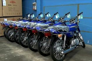 Se patentaron en marzo casi 70.000 motovehículos