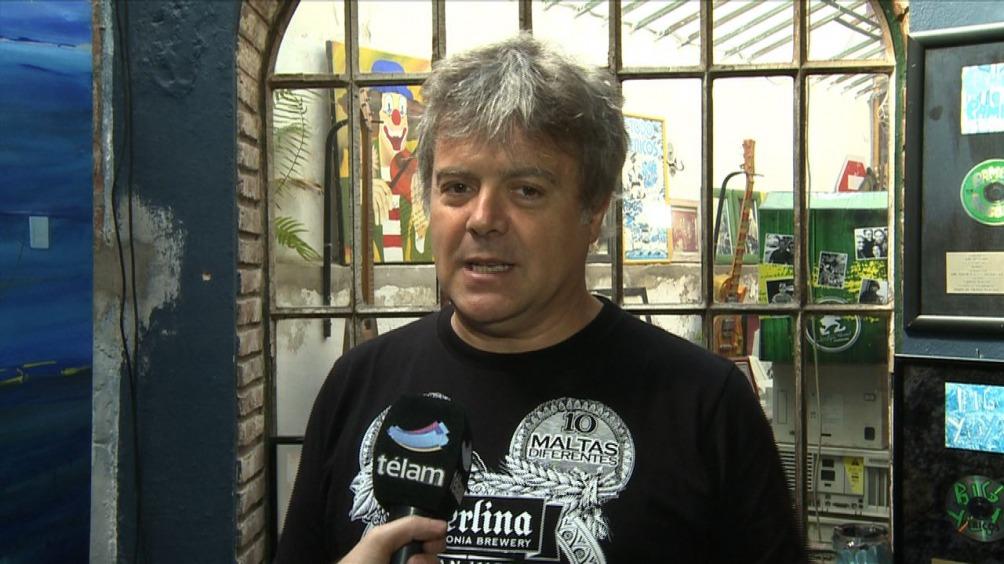 Juancho Balerión, fundador de Pericos y telonero de Ziggy Marley en el Estadio Obras.