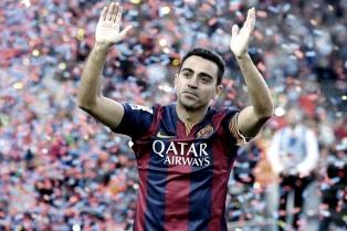 """Xavi, en su despedida del Barsa: """"Espero levantar otra Champions antes de irme"""""""