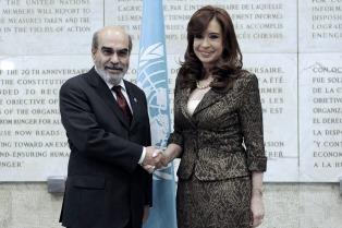 """Alimentos: Cristina pidió una """"regulación global"""" para evitar la especulación"""