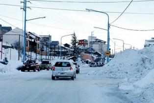 Alerta por nevadas persistentes en la Patagonia
