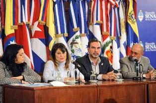 Representantes latinoamericanos de Marca País fueron recibidos por la vicepresidenta de la Comisión de Turismo