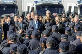 """Daniel Scioli: """"La policía viene recuperando el sentimiento de confianza de la sociedad"""""""