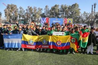 Se juega en Chile la Copa Americana de Fútbol de los Pueblos Indígenas