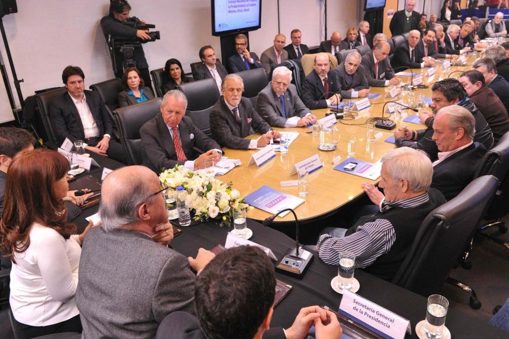 La reunión contará con la presencia de los distintos sectores del sistema productivo.