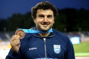 Germán Lauro, el abanderado del atletismo argentino en Río de Janeiro