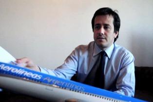 """Recalde: """"Se montó un show mediático en torno a los vuelos de Aerolíneas"""""""