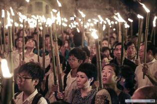Nagasaki conmemoró con un minuto de silencio los 71 años del ataque atómico