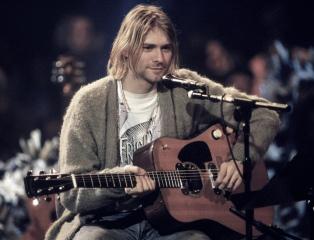 Lanzan un disco con temas inéditos de Kurt Cobain
