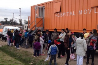 Amplio operativo de salud en las zonas bonaerenses afectadas por el temporal