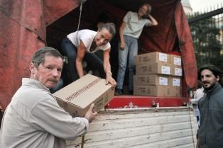 """Juan Carr, sobre la ayuda recibida: """"Estamos desbordados de generosidad"""""""