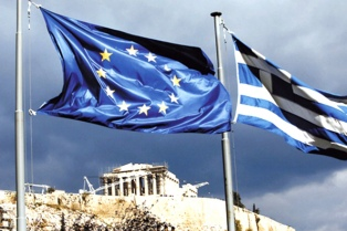 La confianza económica de la eurozona registra la mayor caída en su historia