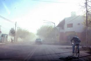 Alerta de nivel rojo por viento Zonda en el norte patagónico