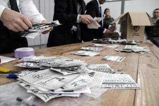 Ponen en marcha la licitación para el escrutinio provisional de votos
