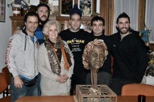 """Estela de Carlotto, con los músicos de Callejeros: """"Si los chicos van presos, yo voy con ellos"""""""