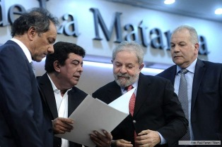 """Scioli y Lula destacaron """"el valor del conocimiento como herramienta para el desarrollo"""", en un acto en la UNLaM"""