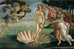 """""""La Venus"""" de Botticelli, centro de una polémica entre museo italiano y sitio de contenido sexual"""