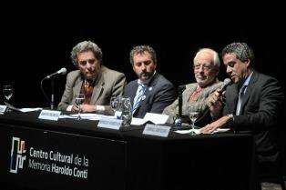 Rafecas, Fresneda, Verbitsky y Jozami inauguraron el VIII Seminario Internacional de Políticas de la Memoria