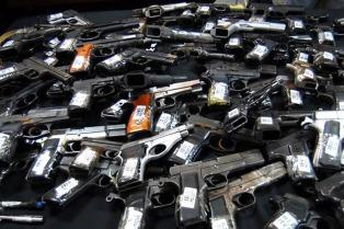 Lanzan una nueva edición del programa nacional de entrega voluntaria de armas