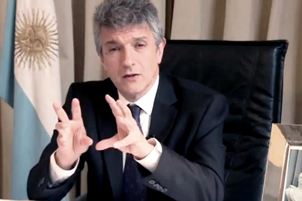 Vice-presidente do Enacom, Gustavo López