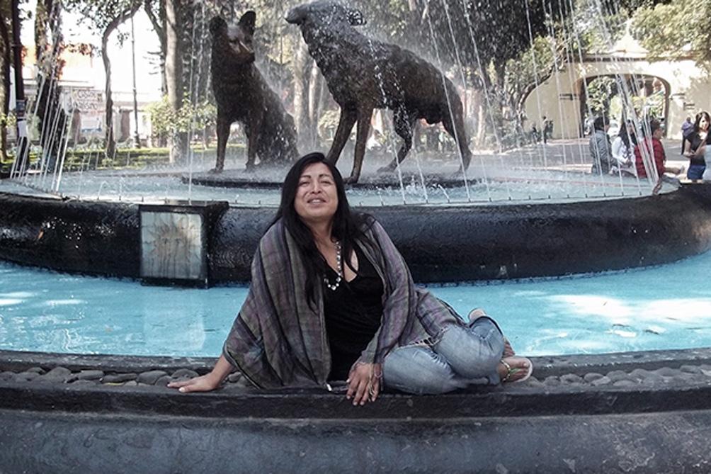 Diana Sacayán, militante trans asesinada en 2015.