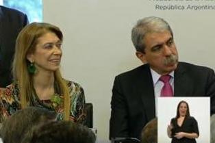 Aníbal Fernández anunció que Débora Giorgi será ministra de la Producción bonaerense si gana los comicios