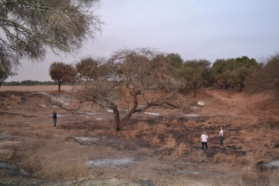 Cráteres y meteoritos atraen a turistas en la reserva de Campo del Cielo, en Chaco