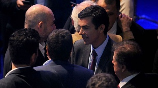 El sciolismo resaltó la firmeza de su candidato y Cambiemos celebró el discurso macrista