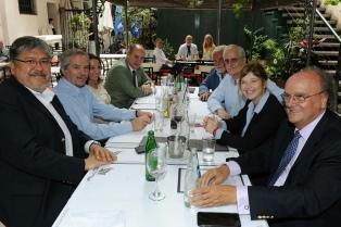 Dirigentes sciolistas se reunieron con Felipe Solá, ex candidato del Frente Renovador