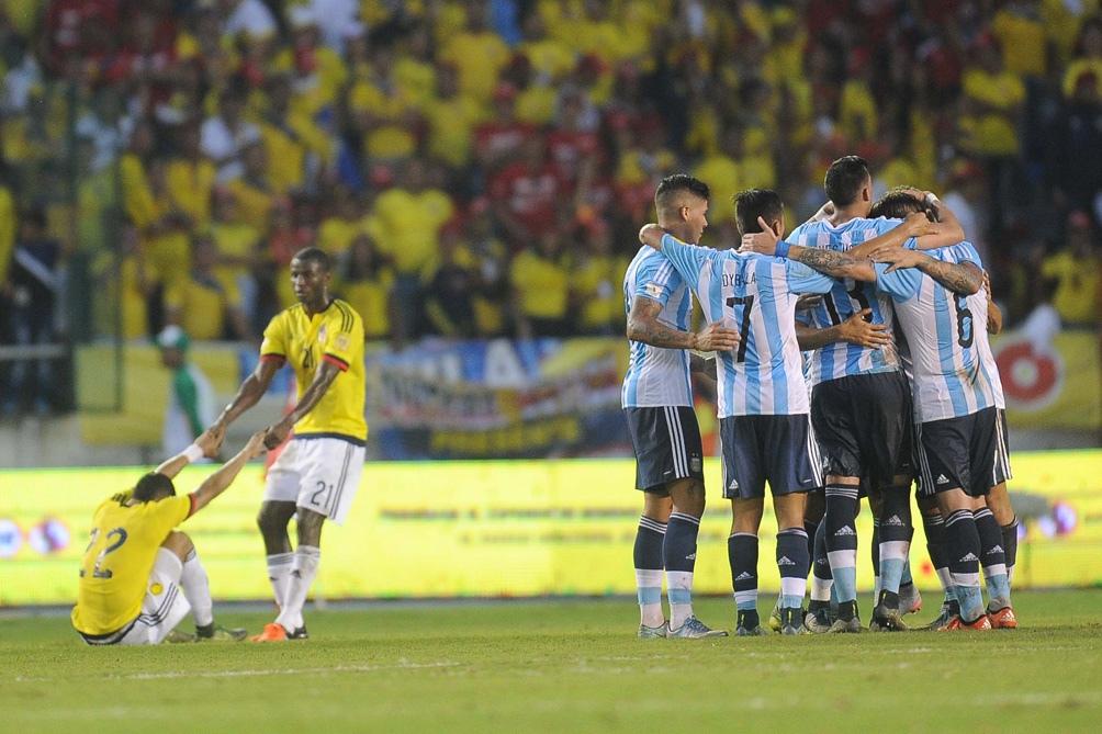 Argentina va por una victoria que lo deposite en la final ante Colombia (foto archivo)