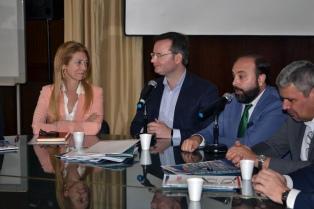 Giorgi encabezó un encuentro entre una empresa rusa y potenciales proveedores locales