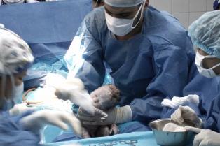Rigurosas medidas de protección en el primer parto de una mujer con coronavirus