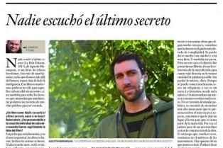 Nadie escuchó el último secreto: Agustín Marangoni